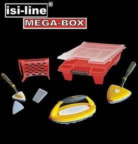 ANSTREICHSET  LACKIERSET 8-tlg. OMEGA XXL DELTA XL Mega-Box Malerset (Delta Box)