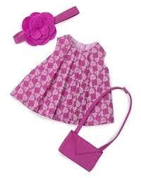 Rubens Barn 150031Schönheit Rose Garden Outfit für weiche Puppe