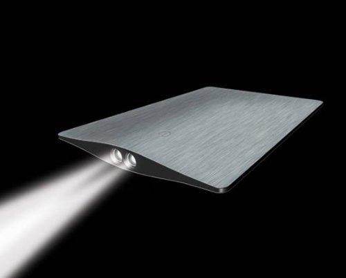 Iain Sinclair eon-c Classic superdünn Kreditkarte Licht, gebürsteter Edelstahl