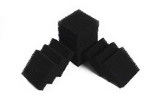 LTWHOME Carboné Mousseux Filtration Tapis Pour Aquarium Média Convient Juwel Compact (paquet de 12)