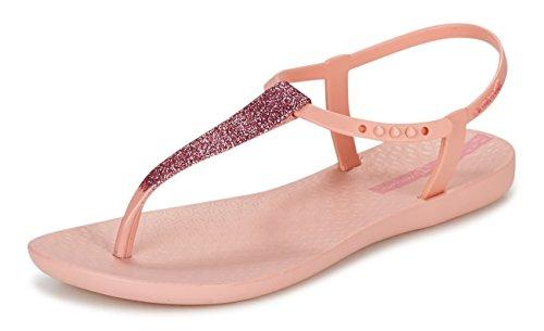 (Ipanema Pop Glitter Frauen Flip-Flops/Sandalen-Pink-40)