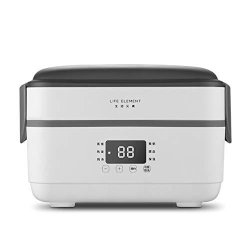 DIDIOI Reiskocher, Reiskocher, zweilagig Elektro-Lunch Box Kleine Reiskocher Automatische Heizung Timing-Isolierung Mini Büroangestellte Double-Layer-Kochen