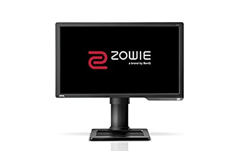 BenQ XL2411 24-inch 144 Hz e-Sports Monitor (Black eQualiser, Height Adjustable) - Dark Grey