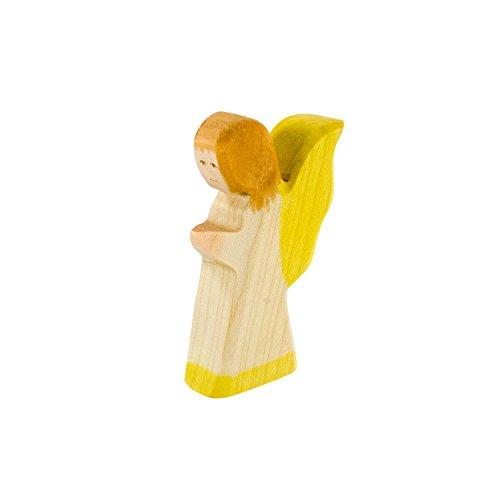 lz (weißes Kleid) ? Weihnachten Holzspielzeug, aus Schwäbischer Handarbeit (100% ökologisch) von Holzspielwaren Ackermann (Weiß Engel Kleid)