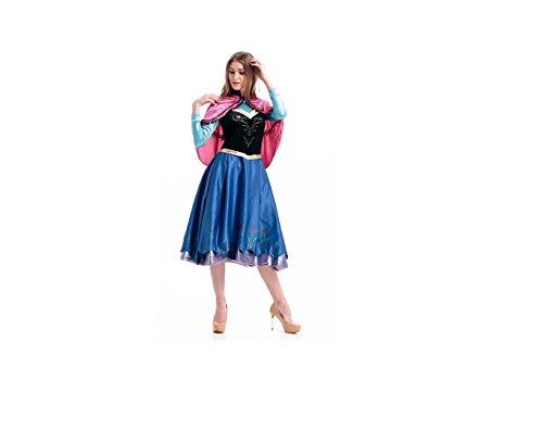 Gefrorene Prinzessin Anna Kostüm (X-Large) (Gefrorene Prinzessin Anna Kostüm)