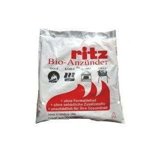 Ritz Bio Kamin- und Grillanzünder für Holz & Kohle (65 Anzünder)