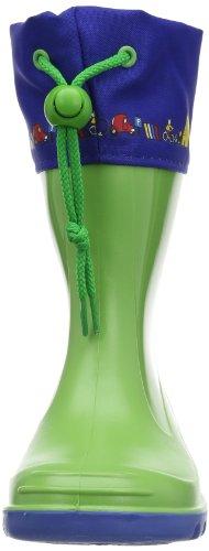 Romika Jerry Unisex-Kinder Halbschaft Gummistiefel Grün (lime-blau 646)