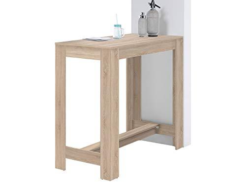 möbelando Bartisch Esszimmertisch Tresentisch Küchentisch Esstisch Tisch Heidi I