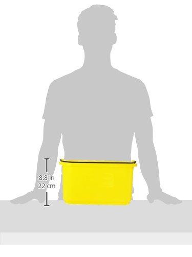 Rubbermaid FG9T8200YEL - 10 Qt Caddy, Yellow