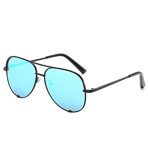 FIRM-CASE Neue Art und Weise Sonnenbrille Frauen übergroße Brille Pilot Sun für Frauen Luxury Shades New Lunettes Femme, 3