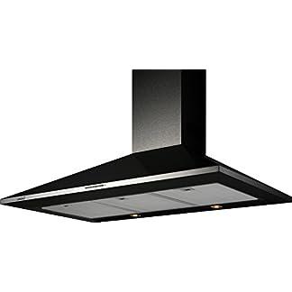 CATA OMEGA 900 BK De techo Negro 645m³/h D – Campana (645 m³/h, Canalizado, D, F, B, 57 dB)