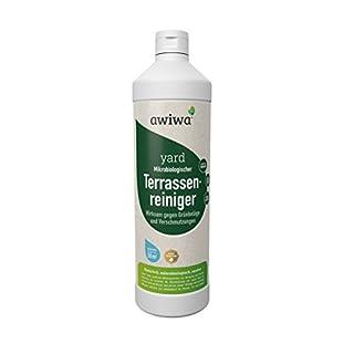 awiwa Terrassenreiniger, Moosentferner & Grünbelagentferner - ohne Chemie