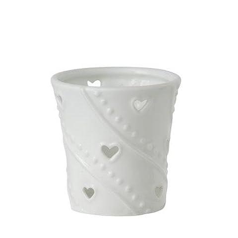 Yankee candle White Hearts Votive Holder