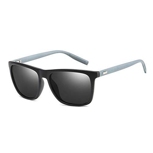 CCGSDJ Sonnenbrillen Unisex Square Vintage Sonnenbrillen Berühmte Marke Sunglases Polarisierte Sonnenbrille Retro Feminino Für Frauen Männer