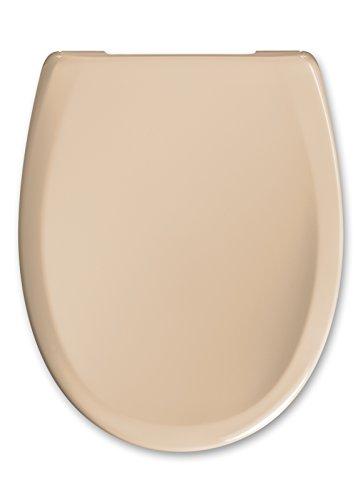 "Cedo WC Sitz ""Kapalua Beach"" In Bahama Beige mit Absenkautomatik Softclose Classic®, Abnehmbar mit TakeOff Original® Abnahmefunktion; aus Duroplast für Ovale Keramiken mit"