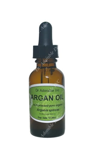 Preisvergleich Produktbild Argan Oil the Purity of Nature Organic Moisturizing Oil 100% Pure Cold Pressed Unrefined Organic Nourish and Revitalize Skin Wrinkle Treatment and Fights Against Anti-aging 1 Oz Glass Amber Bottle with Glass Dropper