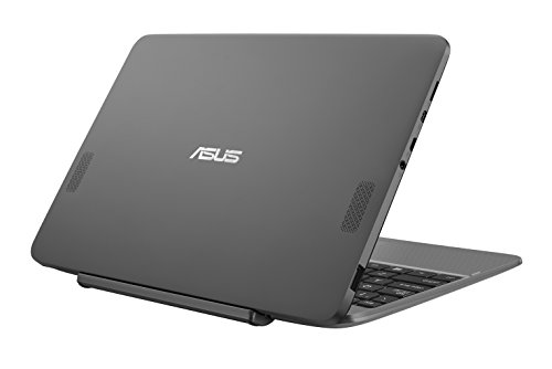"Asus Transformer Book T101HA-GR004T Notebook Convertibile, Display da 10.1"", Processore Atom Z8350 Quad Core, 1.44 GHz, eMMC da 64 GB, 2 GB di RAM, Glacial Grey [Layout Italiano]"