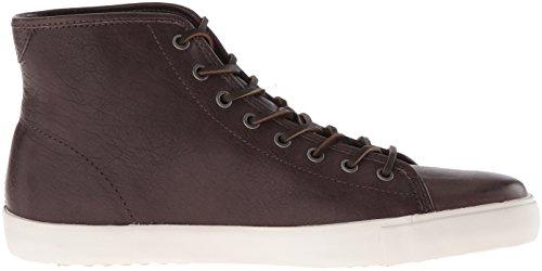 FRYE Mens Brett High Fashion Sneaker Bordeaux