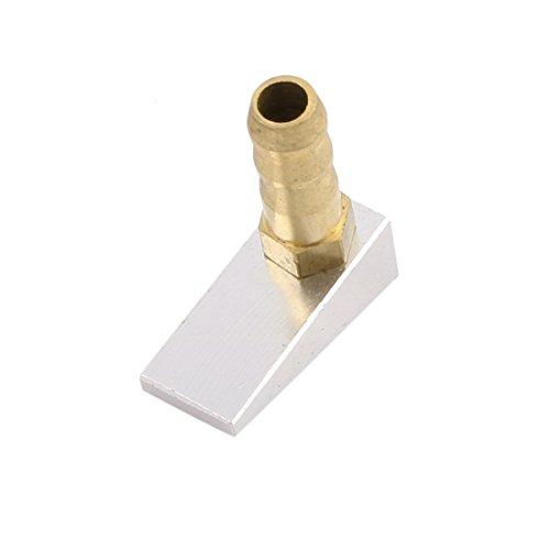 sourcingmap® M 6 Nippel 8 mm x 20 mm Single Einlass Wasser Pickup Deckenbündigen für RC Boot Kühlung