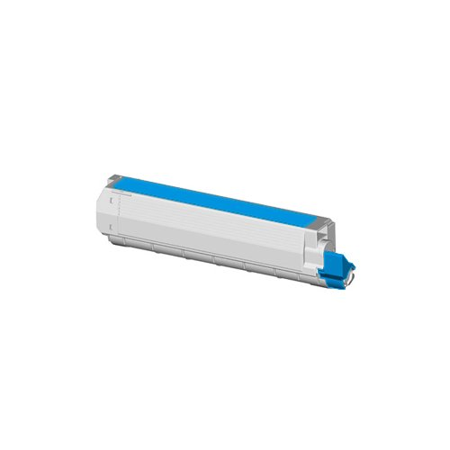 Tito-Express PlatinumSerie Toner XXL Blau für Oki C9600 -