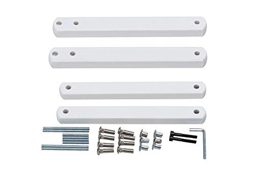Geuther - Zusatzklemmen für Tür- und Treppenschutzgitter, weiß
