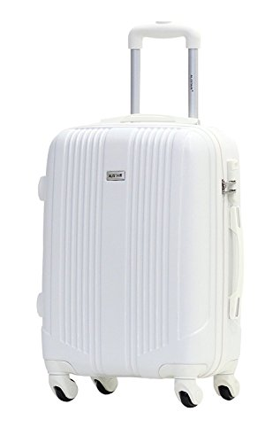 Valise cabine 55cm - Trolley ALISTAIR Airo - ABS - Blanc