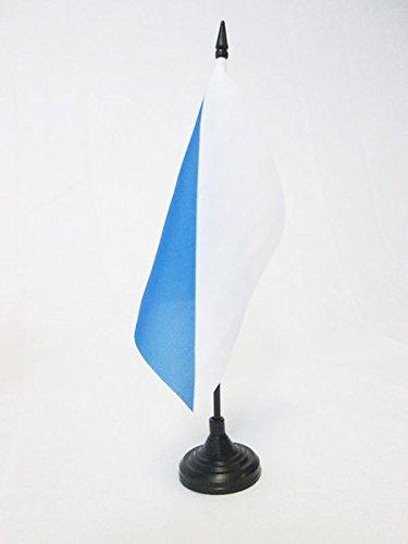 TISCHFLAGGE KANTON ZÜRICH 15x15cm - KANTON ZH TISCHFAHNE 15 x 15 cm - flaggen AZ FLAG