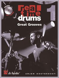 Real Time Drums Great Grooves Level 1