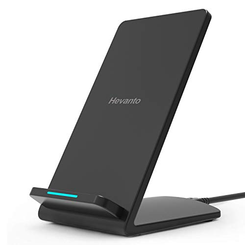 Hevanto Chargeur sans Fil,Qi Certified Chargeur Induction 10W pour Samsung Galaxy S10/S9/S8/S8...