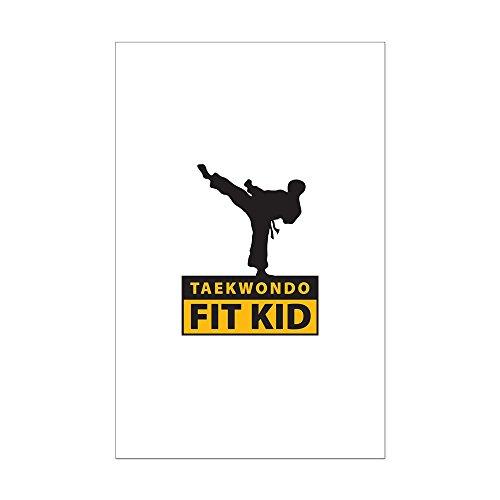 CafePress Mini-Poster Tae Kwon Do Fit Kid