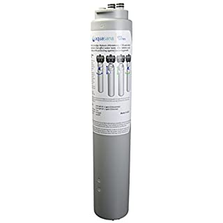 Replacement Water Filter Cartridge for Ice Machine and Brewed Beverage System with Scale Inhibition, Antimicrobial Protection, Chloramine, Chlorine, and Cysts Aquasana Pro Series FS-ICE-C-17-R
