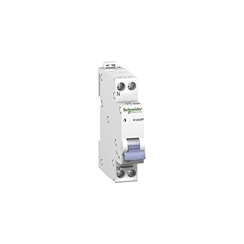 SCHNEIDER ELECTRIC DISJONCTEUR 1P+N 20A, COURBE C SCHNEIDER ELECTRIC 20727