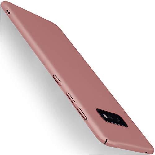 moex Samsung Galaxy S10e | Hülle Rose-Gold Alpha Back-Cover TPU Schutzhülle Dünn Handyhülle für Samsung Galaxy S10 E Case Ultra-Slim Thin Skin Handy Schutz Rückseite