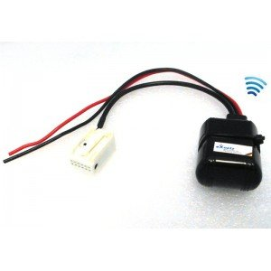 BLUETOOTH für Mercedes AUX Adapter Kabel Radio Navigation Comand APS Audio 20 30 50 Smartphone IPhone