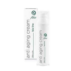 Nuvo' Crema Antiarrugas de Baba de Caracol Facial Hidratante y Antiedad – Orgánica Certificada AIAB – Maxi 75ml Acido Hialuronico Aceite de Argán 100% made in italy
