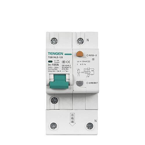 OIASD Interruptor de Aire 1P + N C100A Interruptor de protección contra...