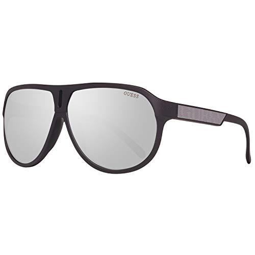 Guess Herren GU6729-6402C Sonnenbrille, Schwarz (Black), 64