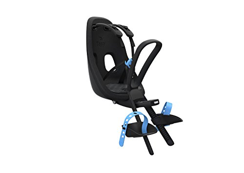 Thule Baby Vorne Angebrachter Fahrradkindersitz, schwarz, One Size