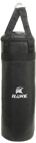 Hawk Boxing Bag Filled, Medium (Black)  available at amazon for Rs.1091