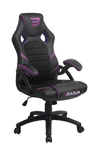 BraZen 18073 Puma PC Gaming Stuhl, Violett Pc-violett