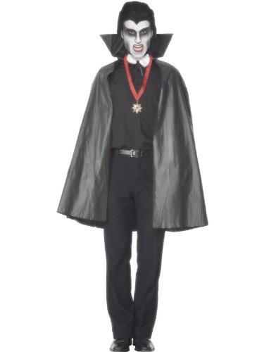 Umhang Vampir Vampirumhang Kostüm Halloween (Müllsack Kostüm)