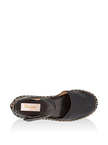 Wrangler WL161610 Sandale Femme Noir - Noir