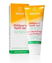 WELEDA Kinder-Zahngel (1 x 50 ml) - Zahncreme, Zahnpasta, speziell für Kinder, natürliche Kariesprophylaxe