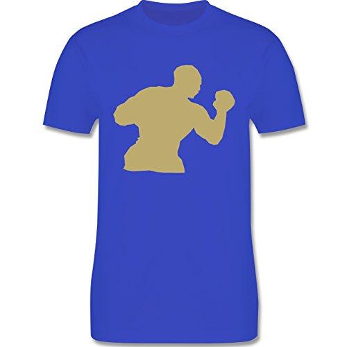 Kampfsport - Boxen - Herren Premium T-Shirt Royalblau