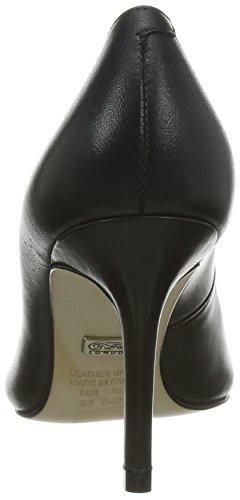 Buffalo London ZS 2990-13 NAPPA, Damen Pumps, Schwarz (BLACK 01), 38 EU -