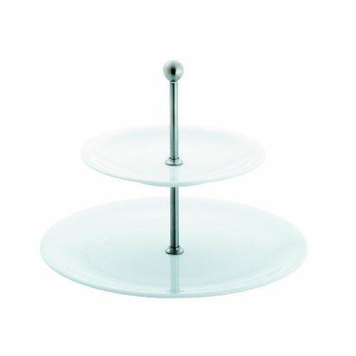 Kahla - Porcelaine pour les Sens 327812A90032C Update Présentoir à 2 Étages Blanc