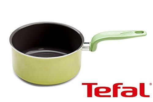Cacerola de Tefal cacerola de 18 cm/aluminim antiadherente/apta para cada tipo de encimera excepto la inducción y el microondas/caja fuerte del lavaplatos/hecho en Francia