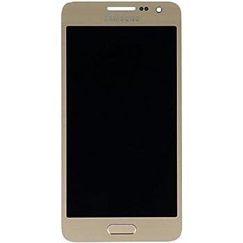 Face avant gold origine Samsung Galaxy A3 Vitre + Ecran LCD + bouton