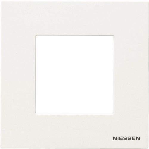 Marco para 1 elemento Niessen Zenit Blanco