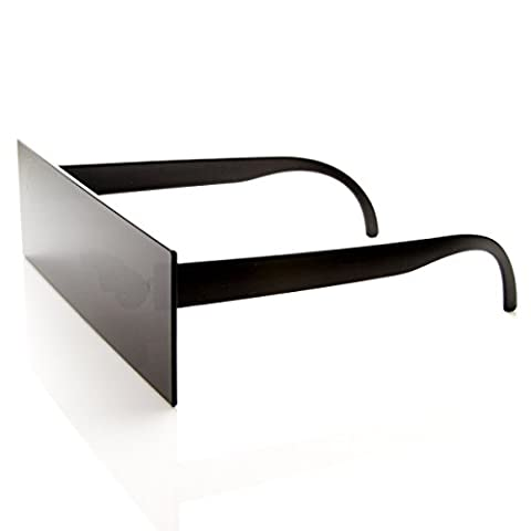 zeroUV - Internet Censorship One-Piece Black Bar Novelty Sunglasses (Occhiali da sole)